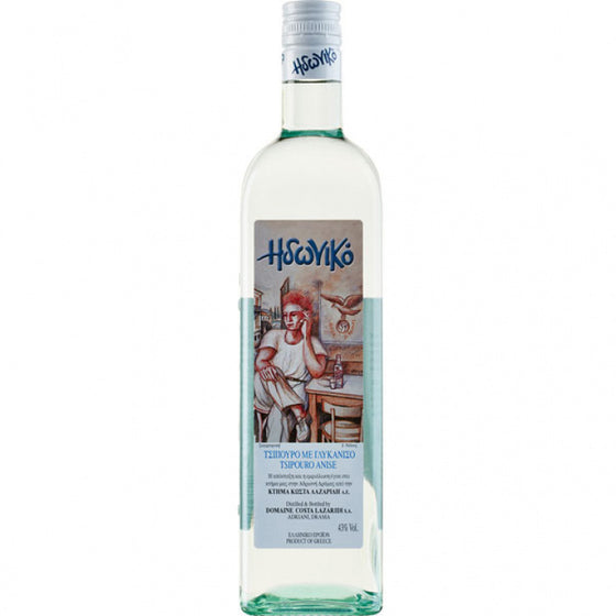 'Costa Lazaridi Domaine' Tsipouro Idoniko with Anise - 200ml