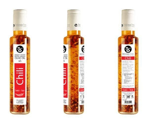 'Delicious Crete' Infused Olive Oil with Chili -250ml