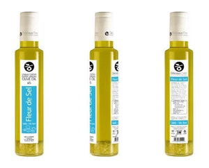 'Delicious Crete' Infused Olive Oil with Fleur de Sel -250ml