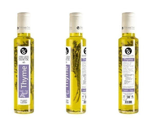 Thyme Infused Extra Virgin  Olive Oil  'Delicious Crete'  -250ml