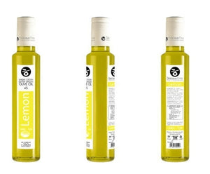 'Delicious Crete' Infused Olive Oil with Lemon - 250ml