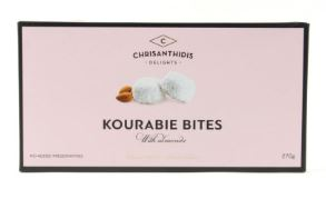 'Chrisanthidis Delights' - Kourabie Bites with Almonds - 270g