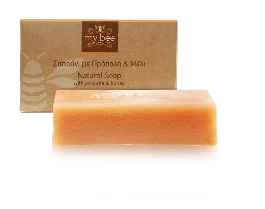'MyBee' Soap with Propolis & Honey -100g