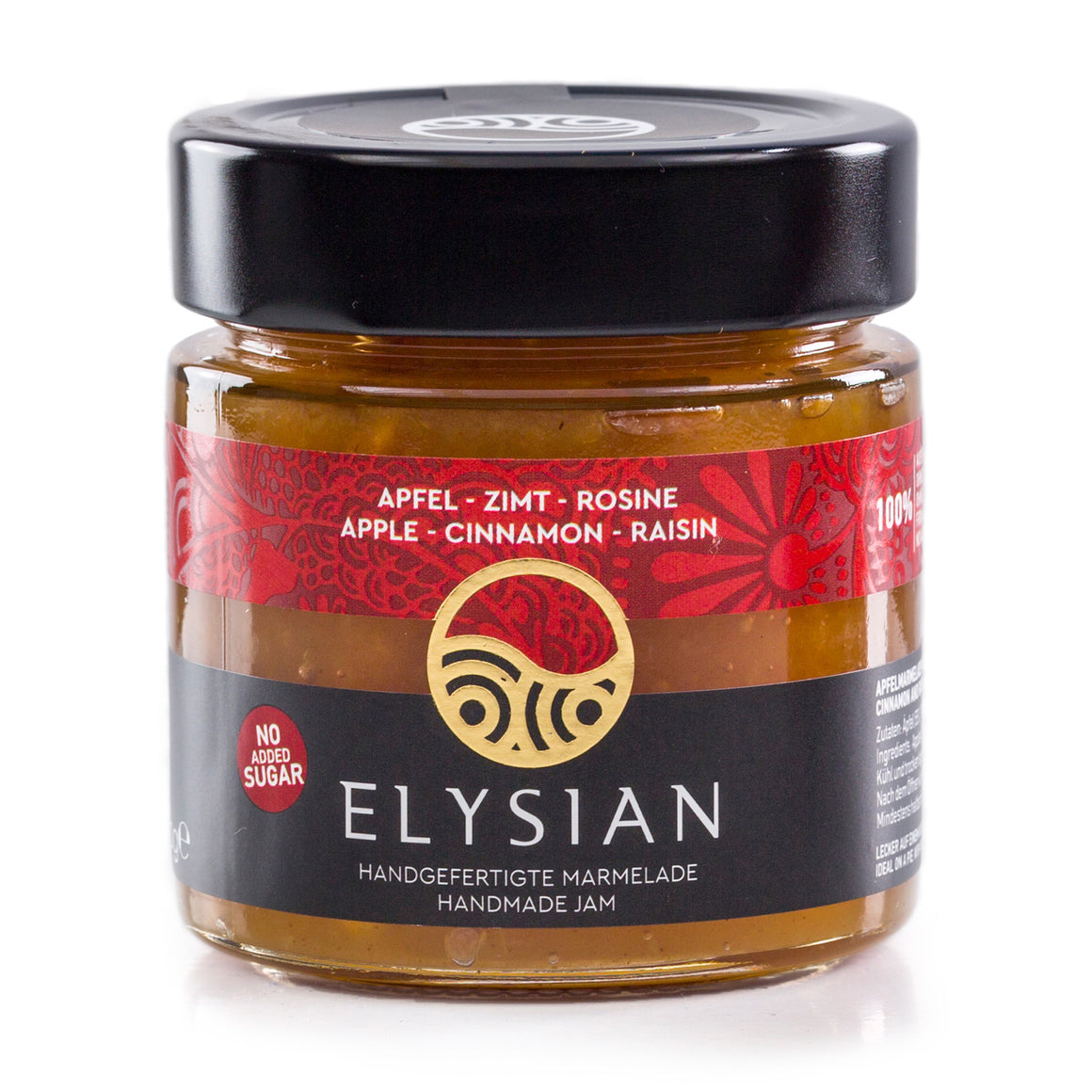'Elysian' Apple, Cinnamon & Raisin Jam -300g