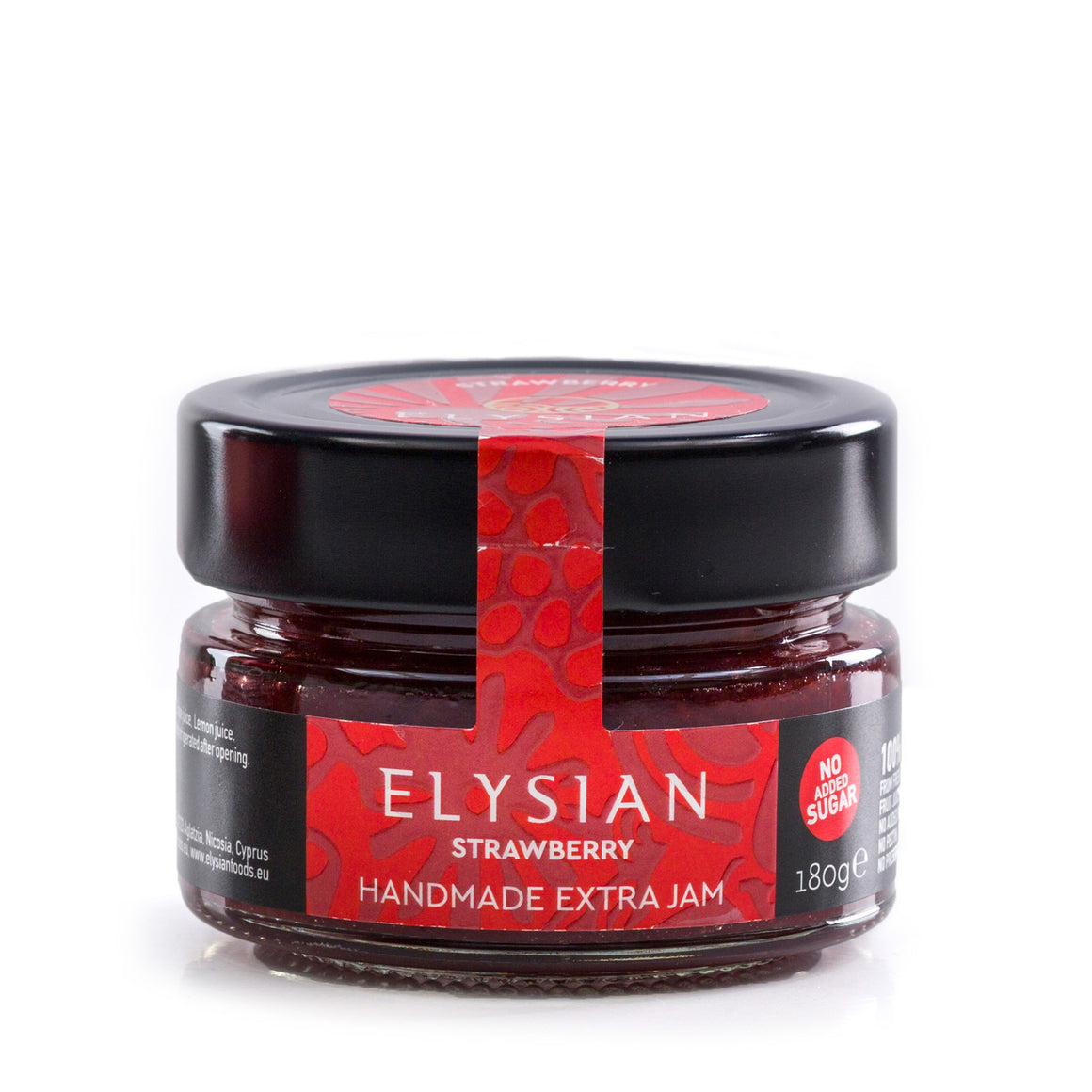 'Elysian' Strawberry Extra Jam -180g