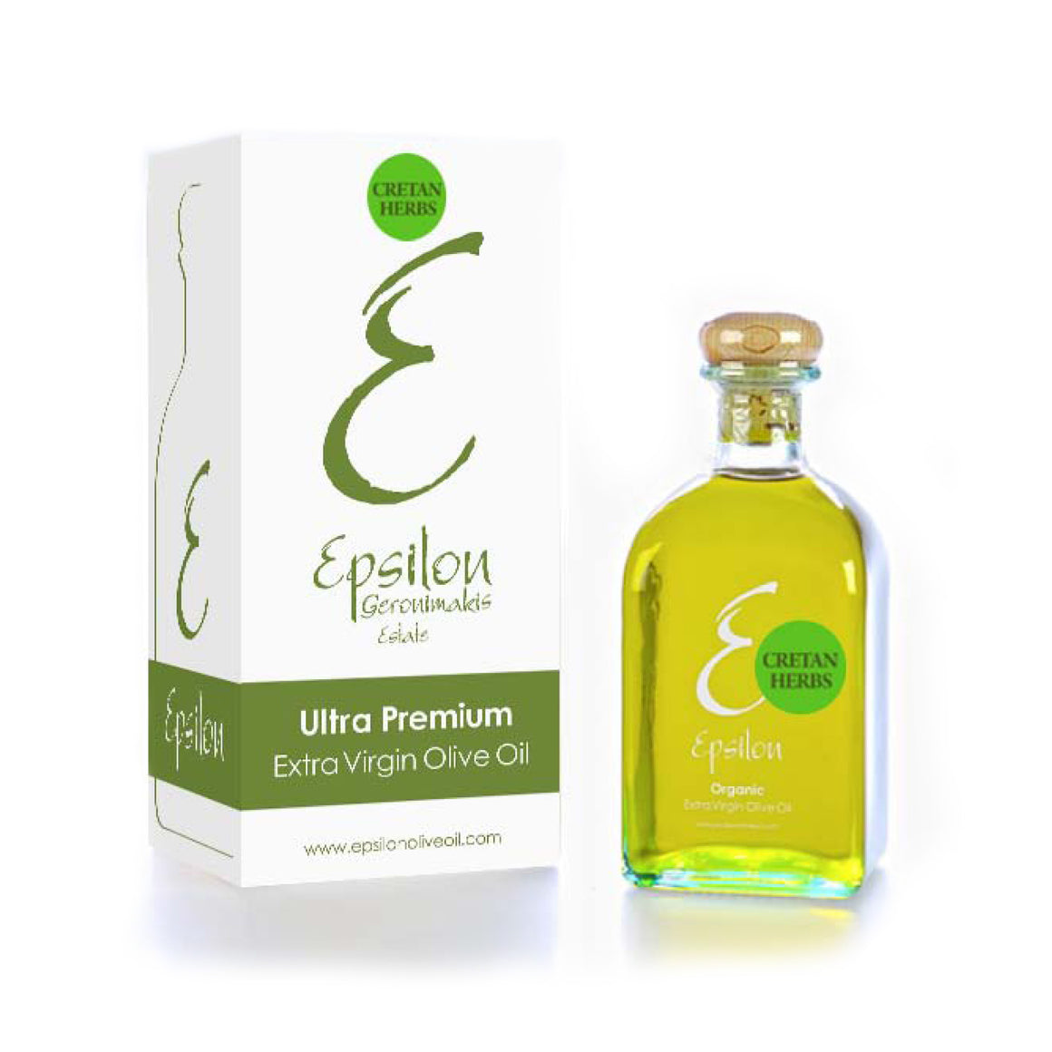 'Epsilon' Cretan Herbs Flavour Extra Virgin Olive Oil - 250ml