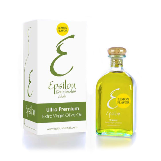 'Epsilon' Lemon Flavour Extra Virgin Olive Oil -250ml