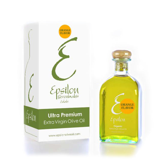 'Epsilon' Orange Flavor Extra Virgin Olive Oil -250ml