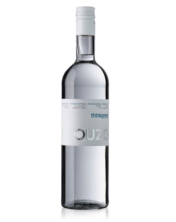 'ThinkGreen' Ouzo from organic ingredients 100% double-distilled - 200ml