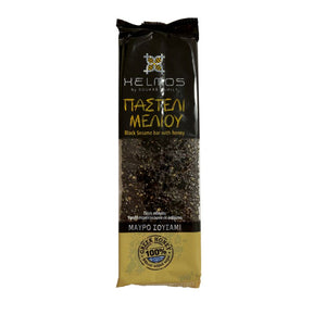 Pasteli - Black Sesame Bar with Honey 'Helmos' - 75g
