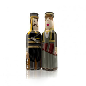 'Pilavas Distillery' Ouzo GOGREEK BOX - 2x50ml