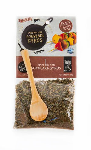 Spice Mix for Greek Souvlaki - Gyros 'Biodinami' - 30g
