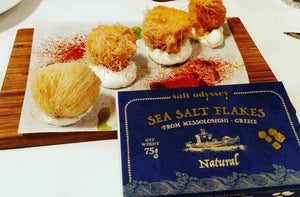 'Salt Odyssey' Sea Salt Flakes Natural