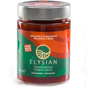 'Elysian' Caramelised Tomato Sauce with Basil -340g