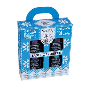 Taste of Greece Giftpack  - Greek Honey Varieties - ''Melira''