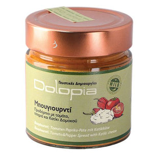 'Dolopia' Bouyiourntí Tomato & Pepper Spread with Katiki cheese - 250g