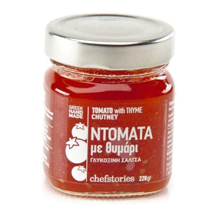 'Chef Stories' Tomato Chutney with Thyme - 240g