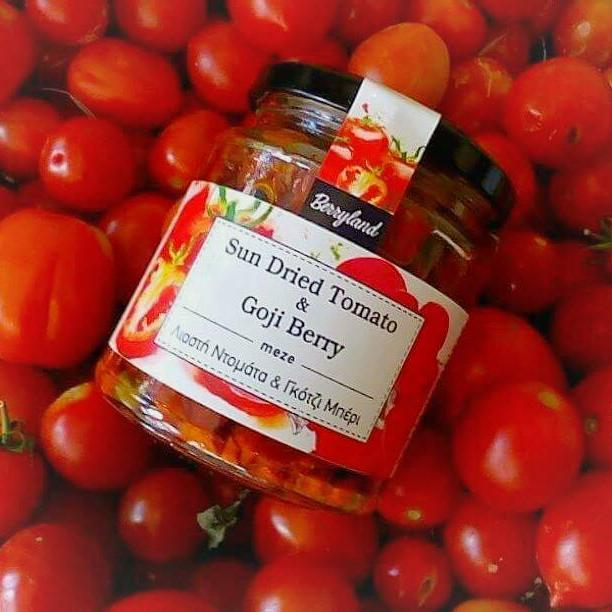'Berryland' Sundried Tomato with Goji Berry  in olive oil - 270g