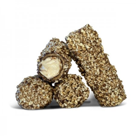 'Biscotti' Markolato - Wafer Rolls Filled with Tahini Cream - 170g