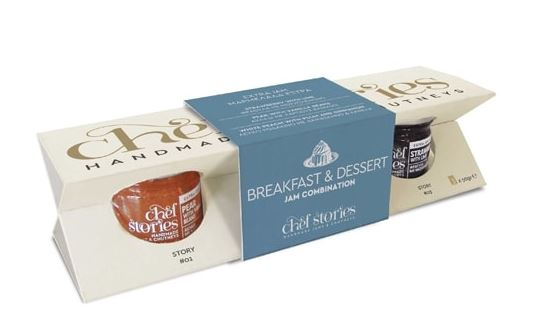 'Chef Stories' Breakfast & Dessert Jam Combination - 3x50g