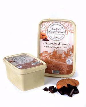 'Drapetsonas' Traditional Handmade Halva with Biscuits & Cocoa - 450g