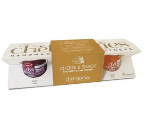 'Chef Stories' Cheese & Snack Chutney & Jam Combo - 3x50g