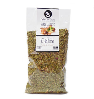 'Delicious Crete' Chicken Mix - 90g