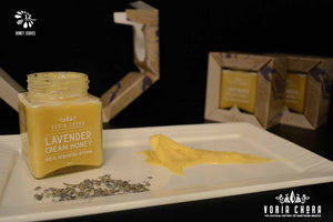 greek Lavender cream honey