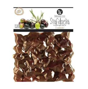 greek Stafidoelia olives in extra virgin olive oil