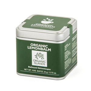 'Organic Islands' Organic Lemonbalm - 30g