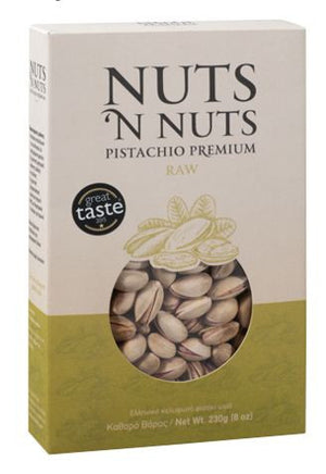Raw Pistachios 'Nuts & Nuts'  -230g
