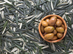 'Olive Gardens' Plum olives from the Mycenaean earth - Natural fermentation - 330g