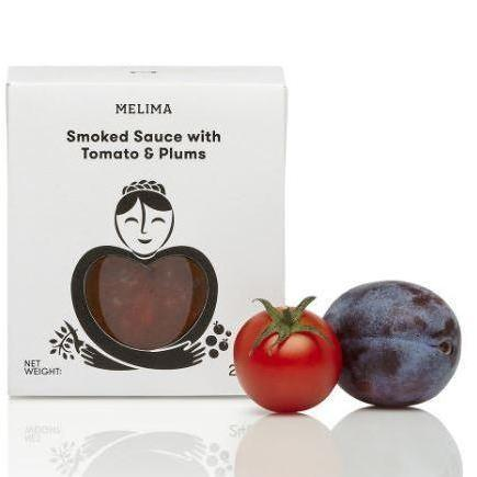 'Melima' Smoked Sauce with Tomato & Plums - 240g