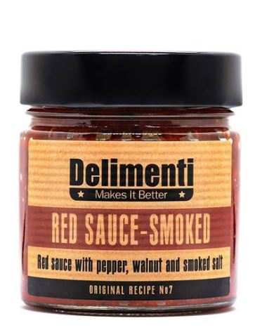 'Delimenti' Red Sauce - Smoked - 330g