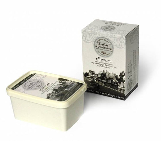 'Drapetsonas' Traditional Handmade Halva Without Sugar With Dietary Fibers & Sweeteners -450g