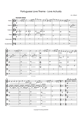 By Craig Armstrong - interactive, digital sheet music to download