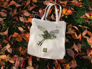 John Muir Trust Owl Canvas Tote Bag