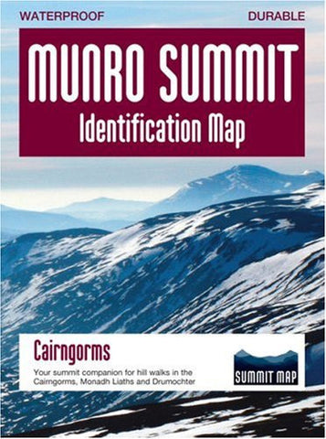 Munro Summit Identification Map – Cairngorms