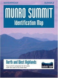 Munro Summit Identification Map – North and West Highlands