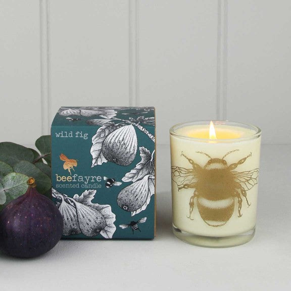 Wild Fig organic Candle by Beefayre