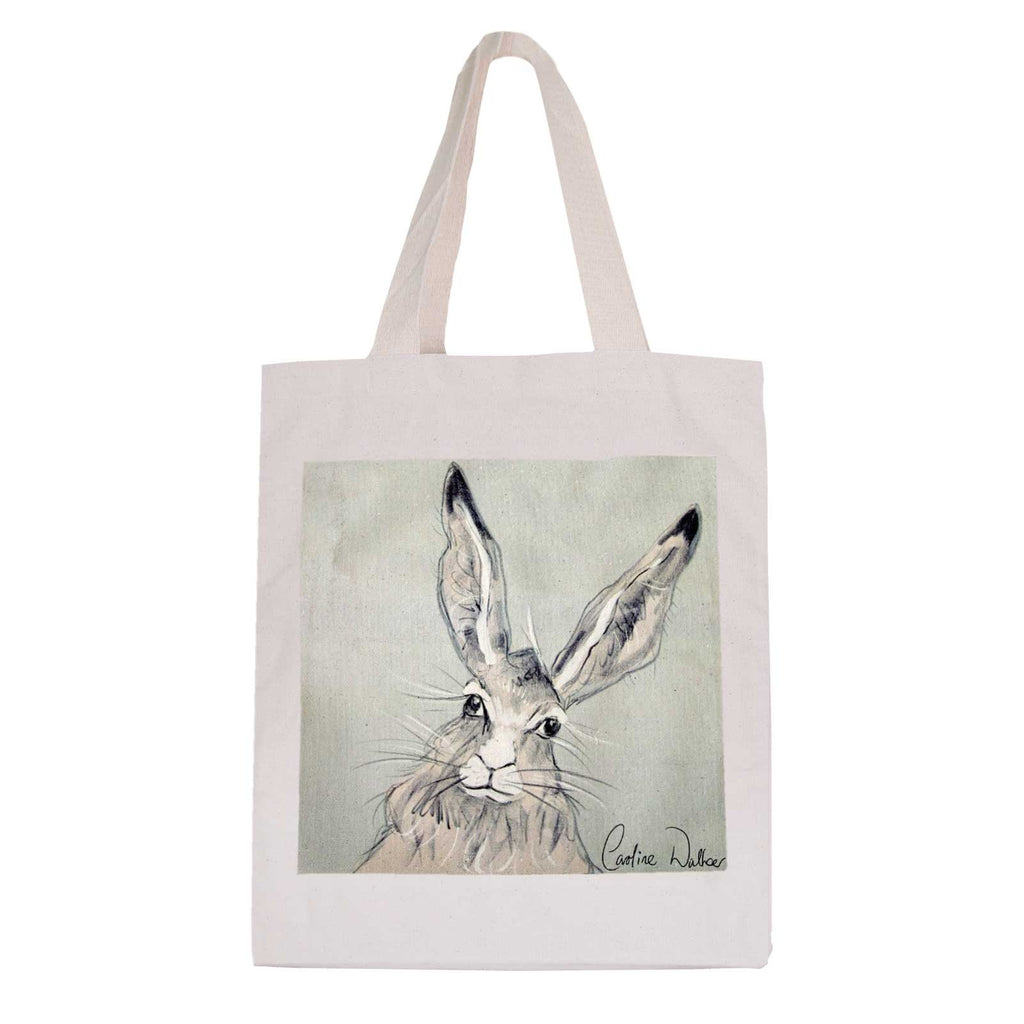Large Billy Hare Cotton Bag by Caroline Walker