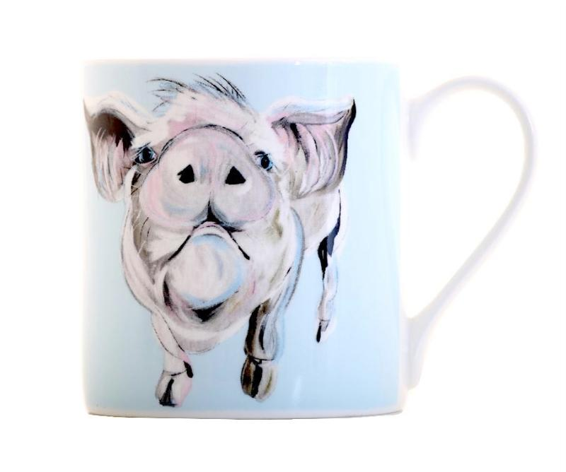 Dennis Balmoral Bone China Large Mug by Caroline Walker