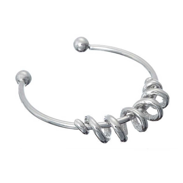 Designer inspired contemporary bangle with twist design