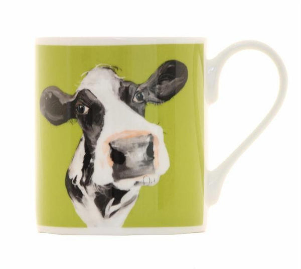 Holly Balmoral Bone China Mug by Caroline Walker