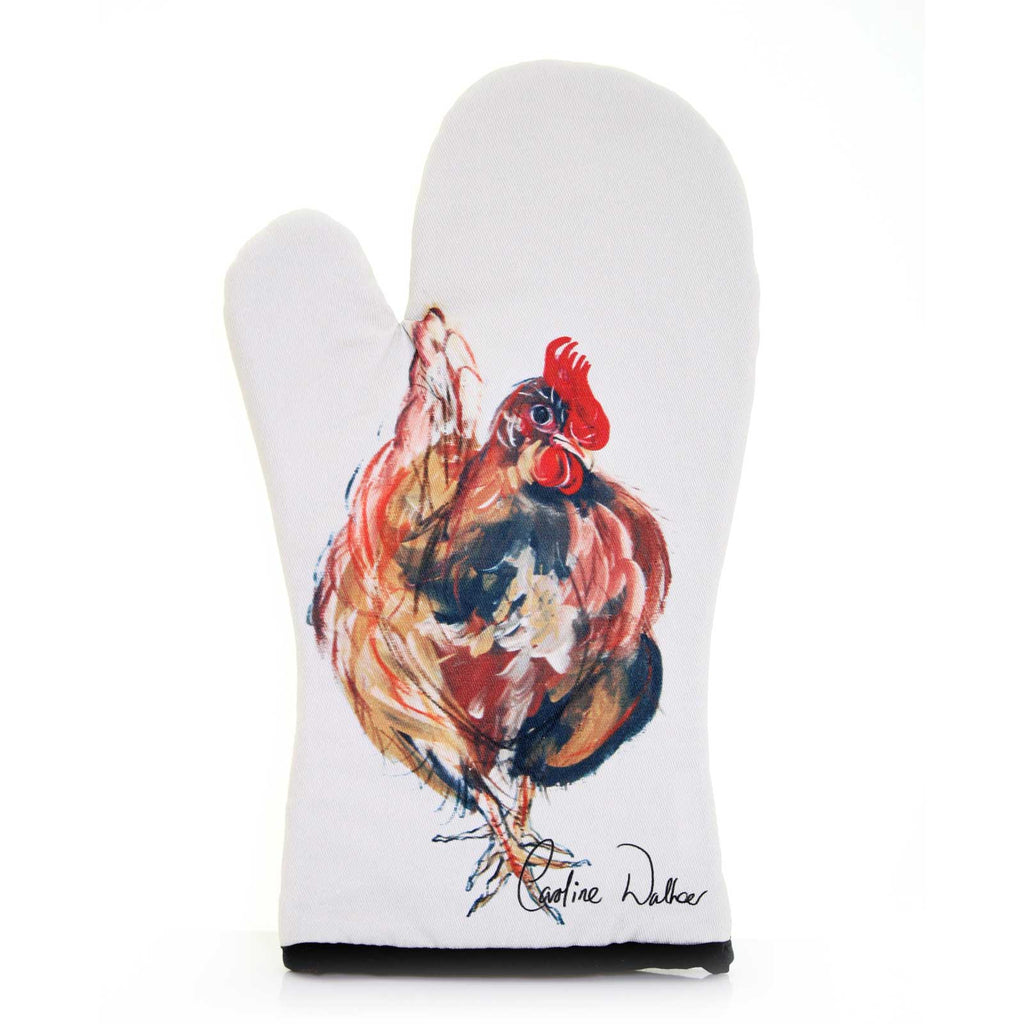 Ruby Chicken Oven Glove