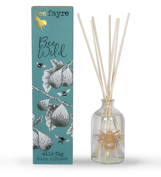 Bee Wild Fig Large 100ml Room Diffuser by Beefayre.