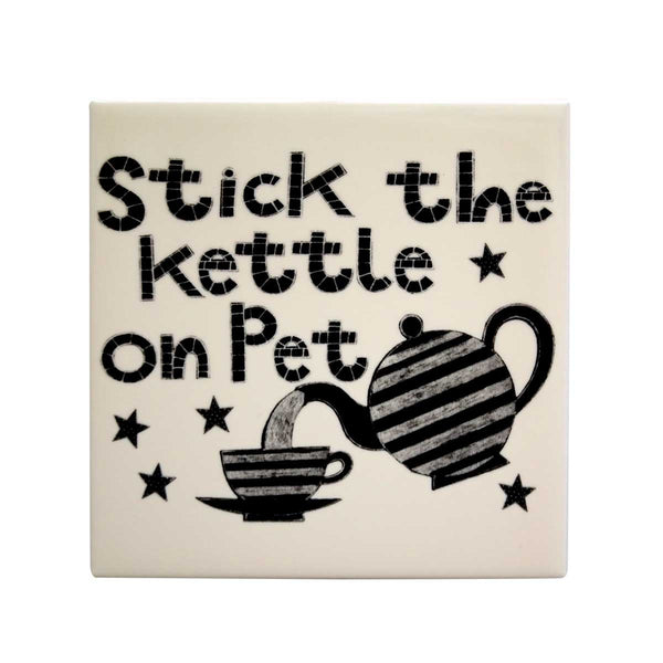 Stick The Kettle On Pet Tea Pot Stand