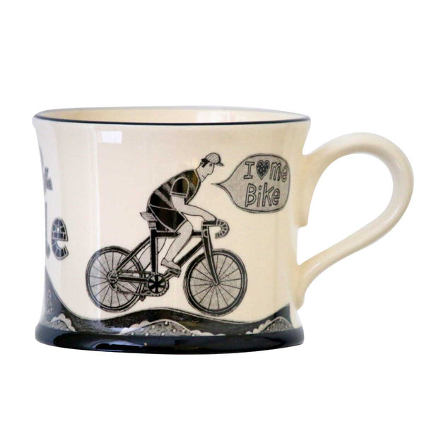 I Love Me Bike - Earthen Ware Mug