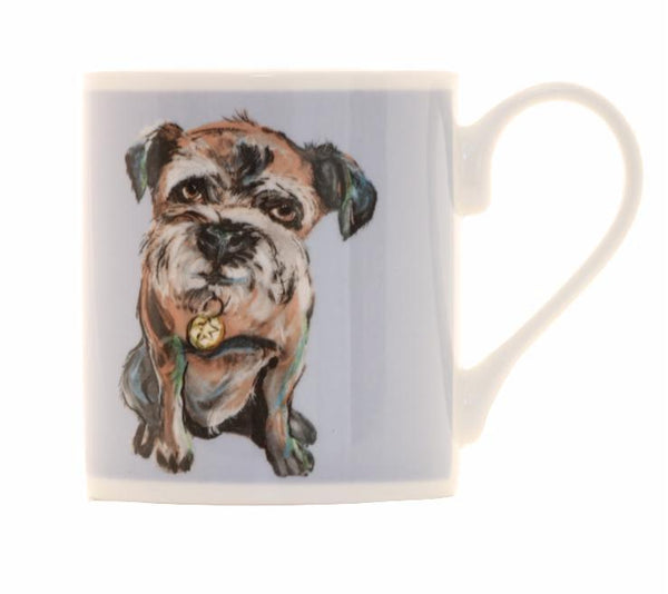 Walnut Balmoral Bone China Mug