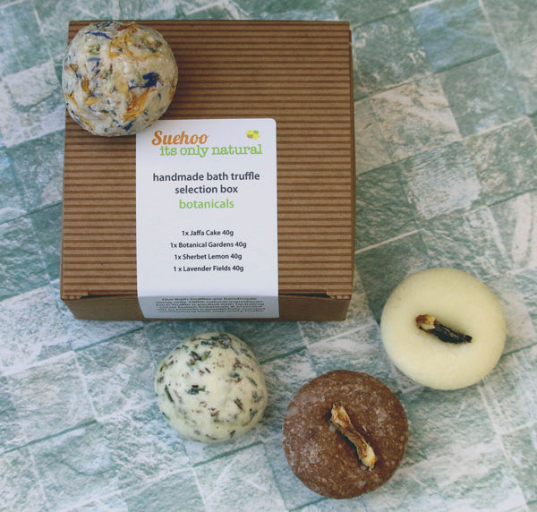 Its Only Natural Bath Truffle Botanicals Selection Box